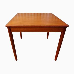 Danish Teak Table with Removable Legs, 1960s