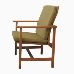 Modell 2257 Armlehnstuhl von Borge Mogensen für Fredericia Stolefabrik, 1950er