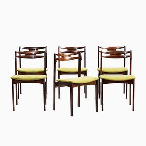 Mid-Century Danish Dining Chairs, Set of 6