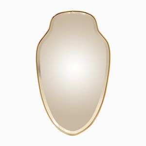 Belgian Crystal Mirror, 1940s