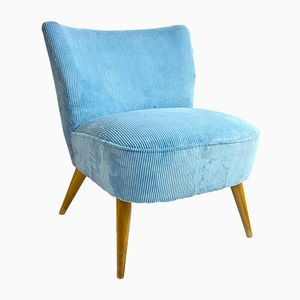 Blue Cocktail Chair, 1950s