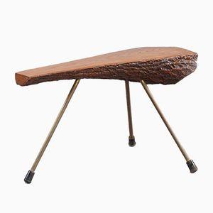 Kleiner Baumstamm Tisch von Carl Auböck, 1950