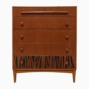 Mid-Century Teak Chest of Drawers from G-Plan