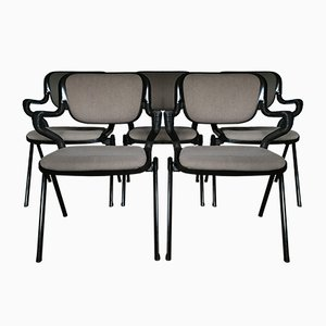 Vertrebra Chairs by Emilio Ambasz & Giancarlo Piretti for Castelli, 1970s, Set of 5