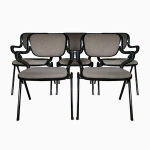 Vertrebra Stühle von Emilio Ambasz & Giancarlo Piretti für Castelli, 1970er, 5er Set