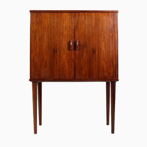 Mid-Century Danish Rosewood Cocktail Cabinet, 1960s