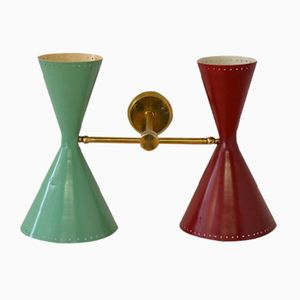 Vintage Diabolo Wall Lamp from Belmag