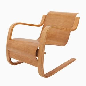 Vintage Model 31 Cantilever Chair by Alvar Aalto