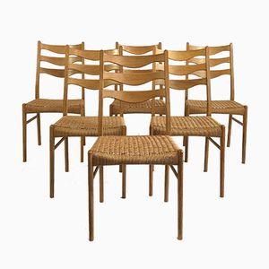 Vintage Danish Chairs, Set of 6