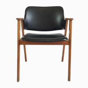 Mid-Century Scandinavian Office Chair