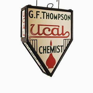 Insegna di farmacia, anni '30
