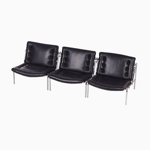 Osaka Easy Chairs Model SZ077 / Nagoya 1 by Martin Visser for 't Spetrum, Set of 3