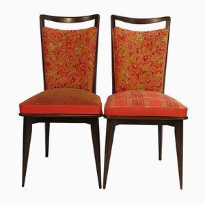 Vintage Stühle mit Kenzo Bezug, 2er Set