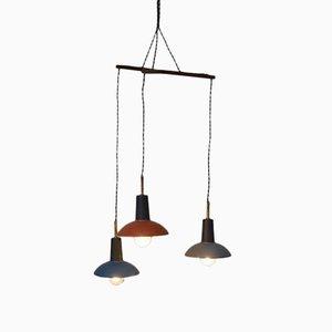 Lampe à Suspension Vintage Multicolore