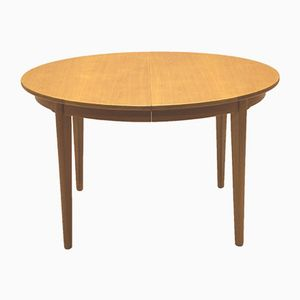 Vintage Model 55 Oak Dining Table by Gunni Omann for Omann Jun