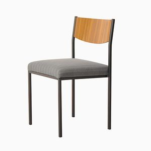 Vintage West German Stacking Design Chair from Fröscher