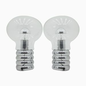Bulb Table Lamps by Ingo Maurer for Design M, 1969, Set of 2