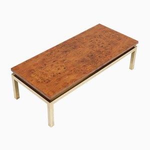 Burl Wood Coffee Table, 1970s