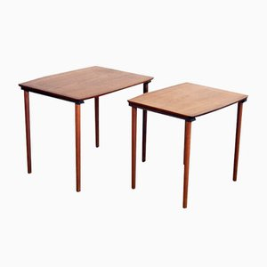 Scandinavian Nesting Tables in Teak, 1960s