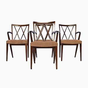 Mid-Century Poly-Z Dining Chairs by A.A. Patijn for Zijlstra Joure, Set of 4