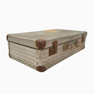Vintage Aluminum Travel Trunk from Rimowa