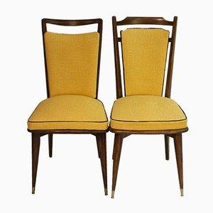 Vintage Stühle mit Bezug von Kenzo, 2er Set