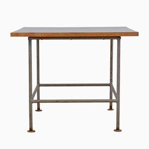 Banc mid century en teck en vente sur pamono - Table d appoint metal noir ...