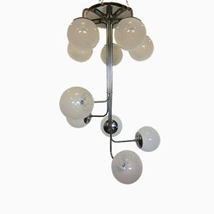 Chandelier by Angelo Mangiarotti for Candle, 1960s