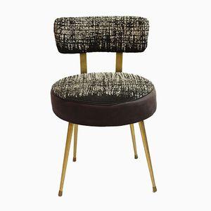Gestreifter Vintage Stuhl von Pelfran, 1953