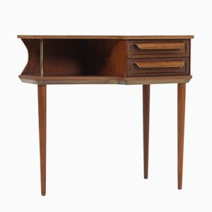 Mid-Century Danish Teak and Rosewood Console Table by Johannes Andersen for CFC Silkeborg