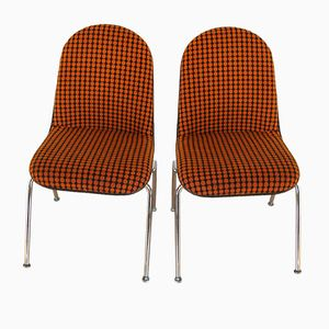 Vintage Chairs from Giroflex, Set of 2