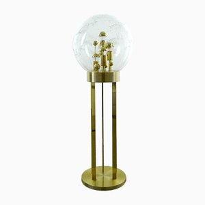Mid-Century German Brass Floor Lamp from Doria, 1960s