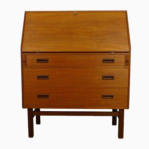 Mid-Century Danish Teak Secretaire from Vitzé, 1960s