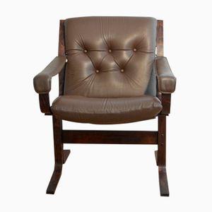 Siesta Lounge Armchair by Ingmar Relling for Westnofa, 1970s