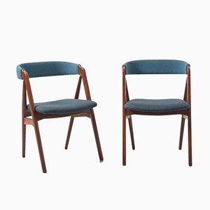 Mid-Century Dining Chairs by Kai Kristiansen, 1960s, Set of 2