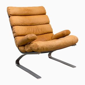 Vintage Sinus Lounge Chair by Reinhold Adolf & Hans-Jürgen Schräpfer for Cor