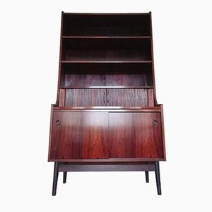 Rosewood Bookcase Bureau by Johannes Sorth