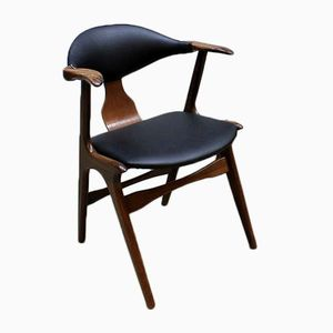 Vintage Cowhorn Dining Chair by Louis Van Teeffelen for Awa, 1960s