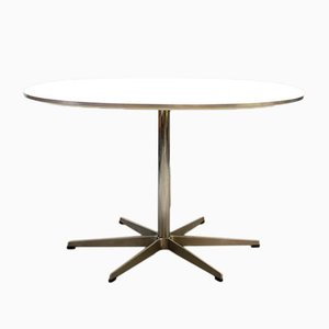 Vintage Mid-Century Table by Bruno Mathsson & Piet Hein for Fritz Hansen, 1950s