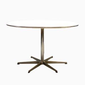 Vintage Mid-Century Tisch von Bruno Mathsson & Piet Hein für Fritz Hansen, 1950er