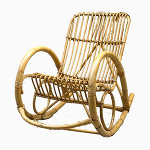 Vintage designm bel online kaufen bei pamono for Bambus schaukelstuhl