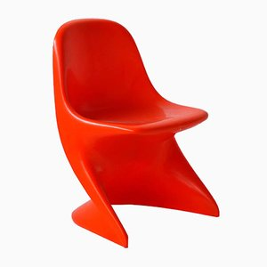 Red Casalino 0 Chair by Alexander Begge for Casala, 1972