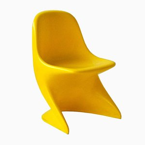 Yellow Casalino 0 Chair by Alexander Begge for Casala, 1972