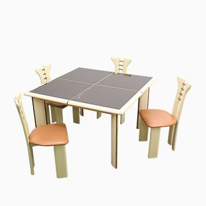 Vintage Dining Set by Afra & Tobia Scarpa for Maxalto