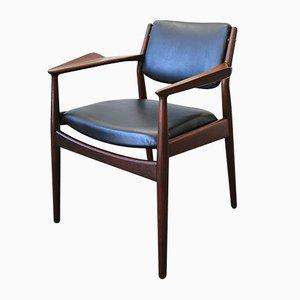 Vintage Modell 51A Armlehnstuhl von Arne Vodder für Sibast