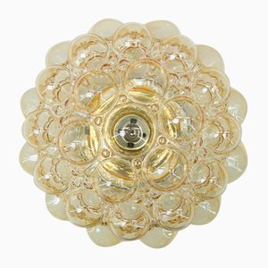 Large Bubble Glass Wall Flush Mount by Helena Tynell for Limburg, 1960s