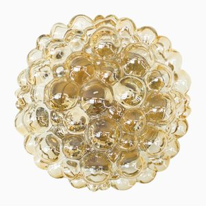 Golden Bubble Glass Flush Mount by Helena Tynell for Limburg, 1960s