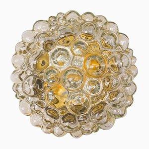 Applique a muro in vetro a bolle di Helena Tynell per Limburg, anni '60