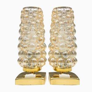 Bubble Glas Tischlampen von Helena Tynell für Limburg, 1960er, 2er Set