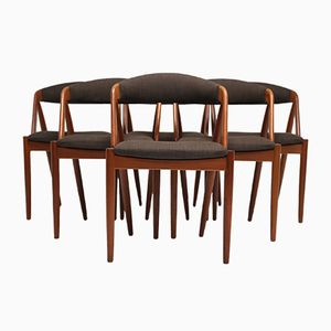 Mid-Century Dining Chairs by Kai Kristiansen, 1960s, Set of 6